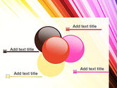Colorful Strings PowerPoint Template#10