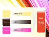 Colorful Strings PowerPoint Template#12