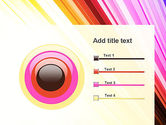 Colorful Strings PowerPoint Template#9