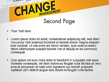 Change Management PowerPoint Template, Slide 2, 13590, Business Concepts — PoweredTemplate.com