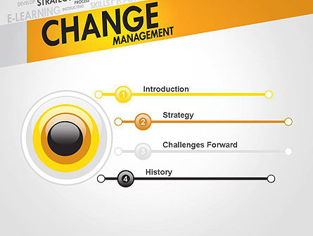 Change Management PowerPoint Template, Slide 3, 13590, Business Concepts — PoweredTemplate.com