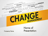 Business Concepts: Change Management PowerPoint Template #13590