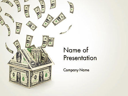 Investments in Real Estate PowerPoint Template