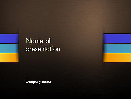 Abstract Braid PowerPoint Template