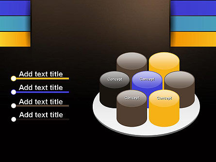 Abstract Braid PowerPoint Template Slide 12