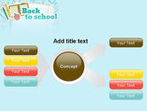 Back to School of Notebook Sheet PowerPoint Template#14