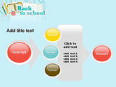 Back to School of Notebook Sheet PowerPoint Template#17