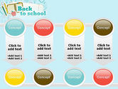 Back to School of Notebook Sheet PowerPoint Template#18