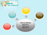 Back to School of Notebook Sheet PowerPoint Template#7