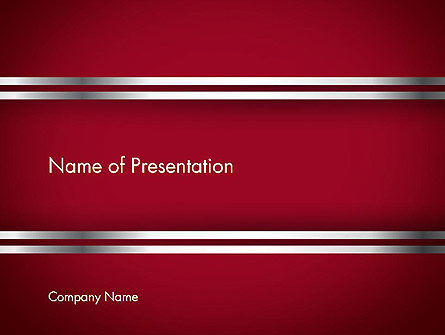 Metal Strips Abstract PowerPoint Template, 13596, Abstract/Textures — PoweredTemplate.com