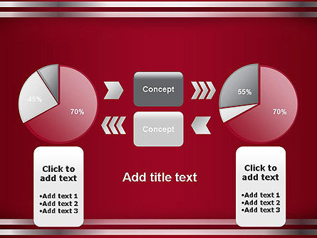 Metal Strips Abstract PowerPoint Template Slide 11