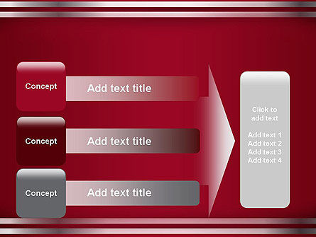 Metal Strips Abstract PowerPoint Template Slide 12