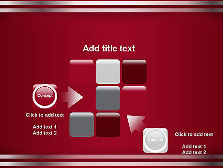 Metal Strips Abstract PowerPoint Template Slide 16
