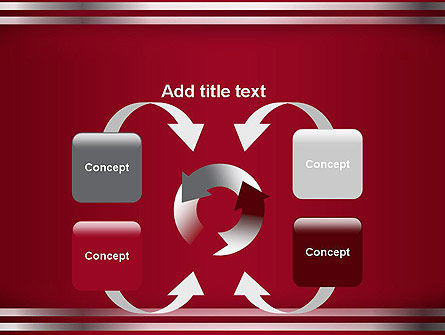 Metal Strips Abstract PowerPoint Template Slide 6