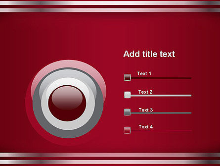 Metal Strips Abstract PowerPoint Template Slide 9