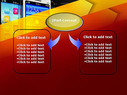 Smartphone Interfaces PowerPoint Template Slide 4