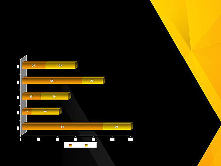 Black and Yellow Shapes PowerPoint Template Slide 11