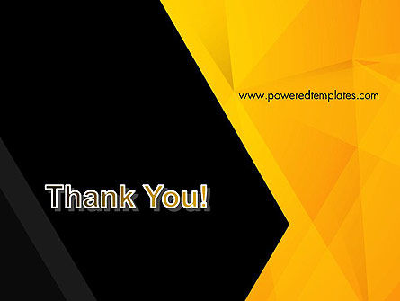 Black and Yellow Shapes PowerPoint Template Slide 20