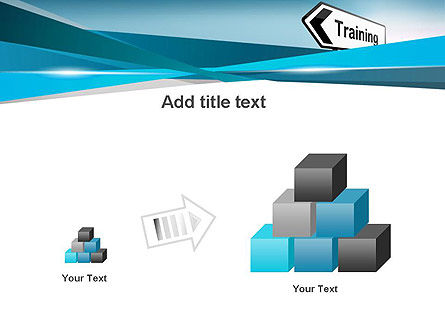 Training Course Sign PowerPoint Template Slide 13