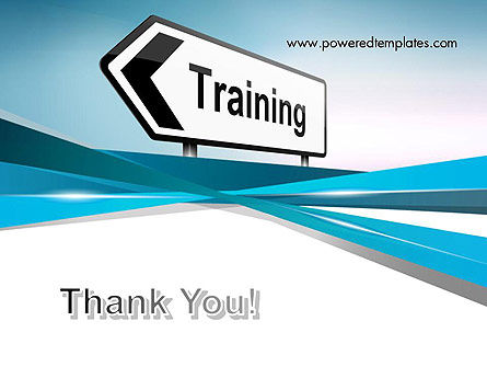 Training Course Sign PowerPoint Template Slide 20