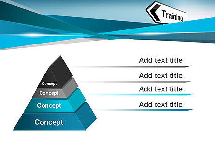 Training Course Sign PowerPoint Template Slide 4