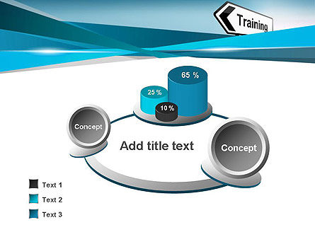 Training Course Sign PowerPoint Template Slide 6