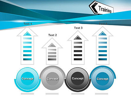 Training Course Sign PowerPoint Template Slide 7
