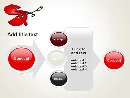 Cut Cost PowerPoint Template Slide 17