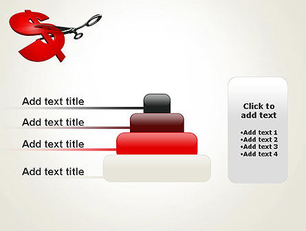 Cut Cost PowerPoint Template Slide 8