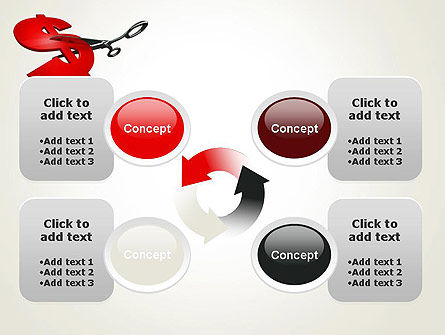 Cut Cost PowerPoint Template Slide 9