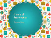Education & Training: School Time PowerPoint Template #13606