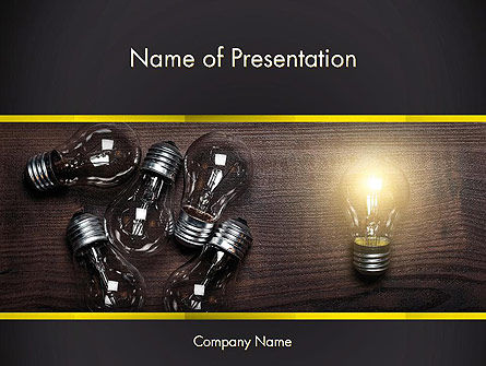 Visionary Leader PowerPoint Template, 13607, Business Concepts — PoweredTemplate.com