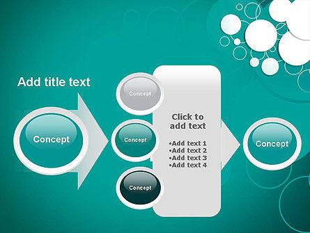 Paper Cut Circles Abstract PowerPoint Template Slide 17