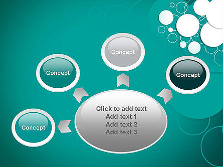 Paper Cut Circles Abstract PowerPoint Template Slide 7