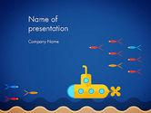 Nature & Environment: Yellow Submarine PowerPoint Template #13610