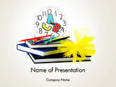 Education & Training: Study Time PowerPoint Template #13611
