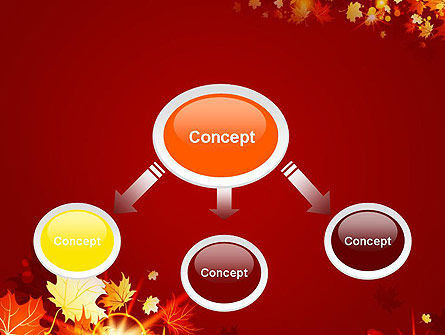 Autumn Leaves PowerPoint Template, Slide 4, 13613, Nature & Environment — PoweredTemplate.com