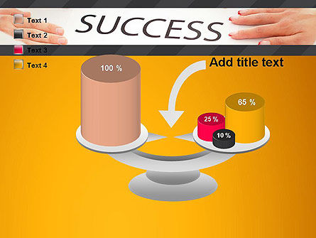 Working for Success PowerPoint Template Slide 10