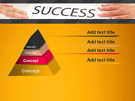 Working for Success PowerPoint Template Slide 12