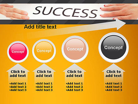Working for Success PowerPoint Template Slide 13