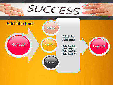 Working for Success PowerPoint Template Slide 17