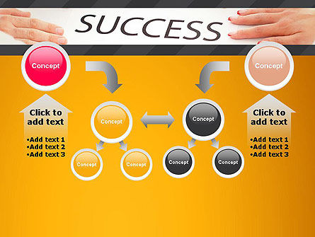 Working for Success PowerPoint Template Slide 19