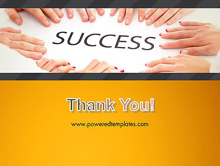 Working for Success PowerPoint Template Slide 20