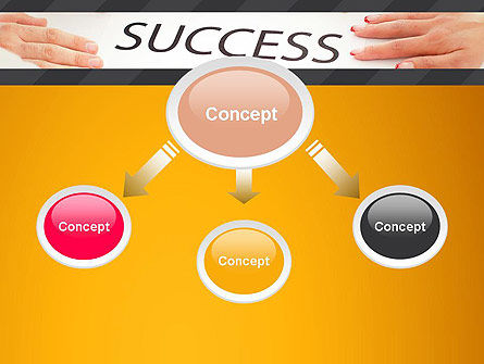 Working for Success PowerPoint Template, Slide 4, 13615, Business Concepts — PoweredTemplate.com