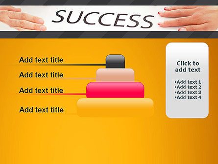 Working for Success PowerPoint Template Slide 8