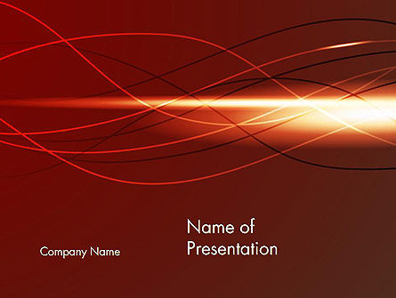 Interpolation Abstract PowerPoint Template, 13617, Abstract/Textures — PoweredTemplate.com