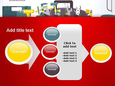 Construction Tools and Equipment PowerPoint Template Slide 17