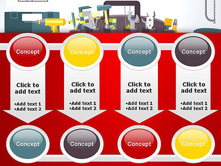 Construction Tools and Equipment PowerPoint Template Slide 18