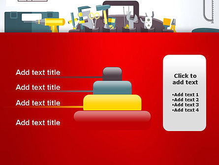Construction Tools and Equipment PowerPoint Template Slide 8
