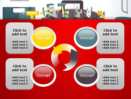 Construction Tools and Equipment PowerPoint Template Slide 9